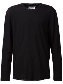 Maison Margiela - Ribbed Lightweight Top