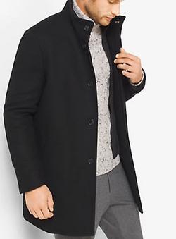 Michael Kors Mens - Wool-Melton Car Coat