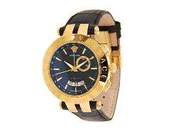 Versace -  V-race Leather Strapwatch