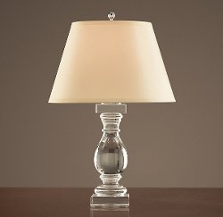 Restoration Hardware - Crystal Banister Table Lamp
