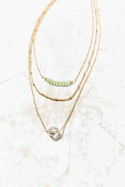 Urban Outfitters - Femme Fatale Layer Necklace