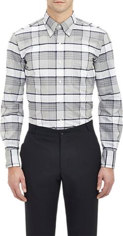 Thom Browne  - Plaid Oxford Shirt