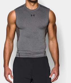 Under Armour - HeatGear Armour Sleeveless Compression Shirt