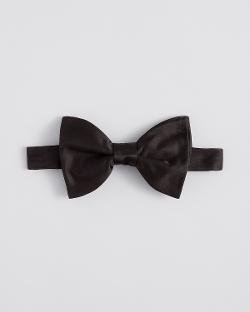 Lanvin - Solid Satin Bow Tie