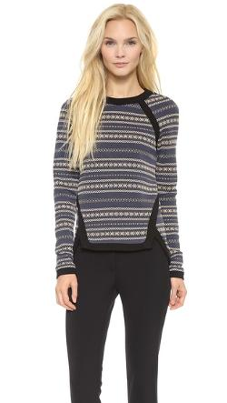 Veronica  - Beard Seamed Pullover