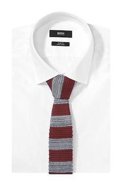 Boss - Knit Striped Tie