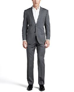Boss Hugo Boss  - James Tonal-Plaid Suit, Gray