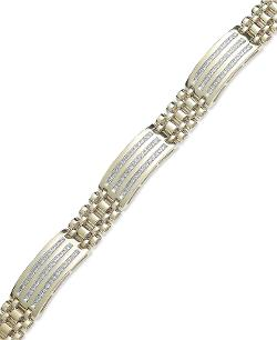 YellOra - Three Station Diamond Bracelet