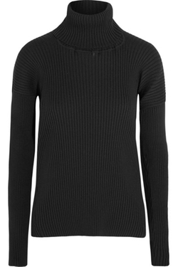 Vetements - Ribbed-Knit Turtleneck Sweater