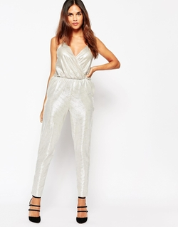 Oh My Love - Metallic Jumpsuit