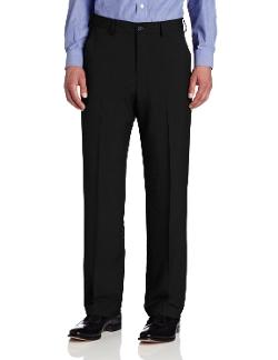 Van Heusen - Straight Fit Crosshatch Pants