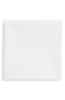 Ted Baker London - Solid Cotton Pocket Square