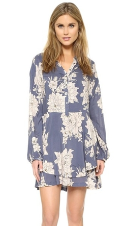 Free People - Shake It Print Mini Dress