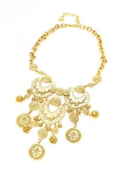 R.J. Graziano - Coin Bib Necklace