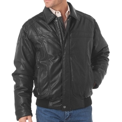 Cripple Creek - Faux Leather Antiqued Jacket