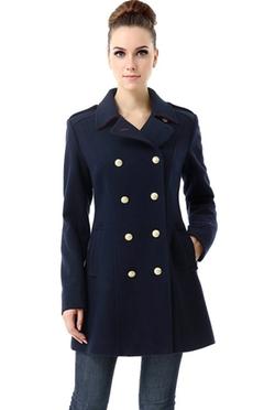BGSD - Fitted Military Melton Coat