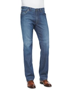 Brioni   - Five-Pocket Denim Jeans