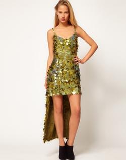 Asos - Revive Sequin Maxi Dress