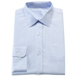 Croft & Barrow - Slim-Fit Herringbone Spread Collar Dress Shirt