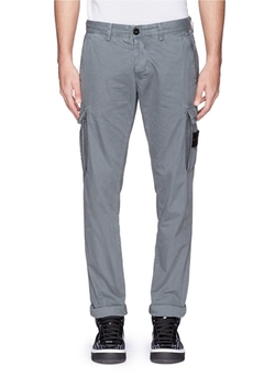 Stone Island - Coated Cotton Cargo Pants
