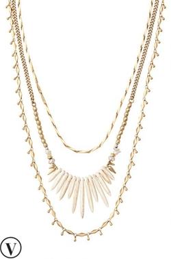 Stella & Dot - Zuni Layering Necklace