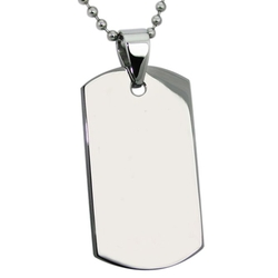 Mokiss - Dog ID Tag Pendant Necklace