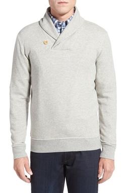 Brooks Brothers - Knit Fleece Shawl Collar Sweater
