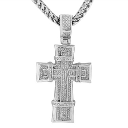 My Daily Styles - Hip Hop Cross Pendant Necklace