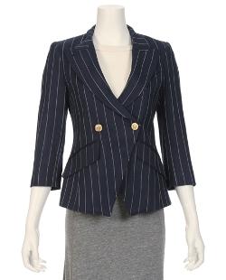 Smythe  - Crossover Stripe Blazer