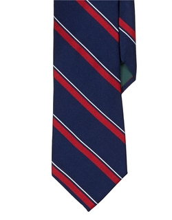 Lauren Ralph Lauren - Regency Striped Silk Repp Tie