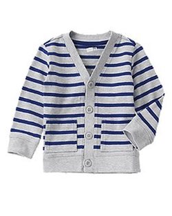 Crazy 8 - Striped Cardigan Sweater