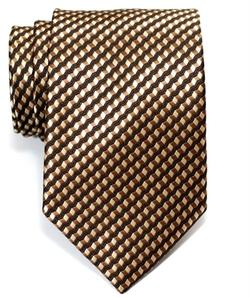Retreez - Wavy Zig Zag Stripe Pattern Woven Men