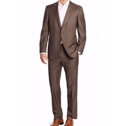 Saks Fifth Avenue Collection  - Samuelsohn Two-Button Wool Suit