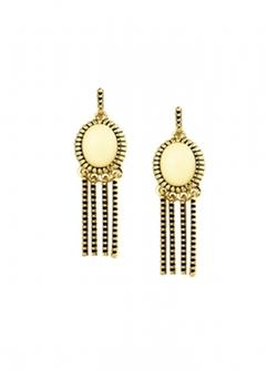 House Of Harlow 1960  - Sunburst Fringe Earrings