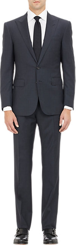 Ralph Lauren Black Label - Glen Plaid Two-Button Suit