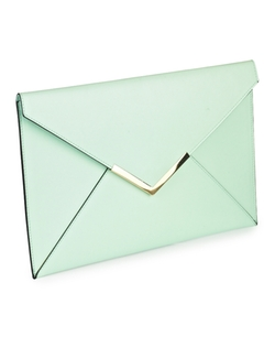 Simply Be - Pastel Envelope Clutch Bag