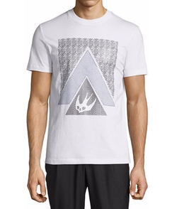 McQ by Alexander McQueen - Triangle Logo Short-Sleeve T-Shirt