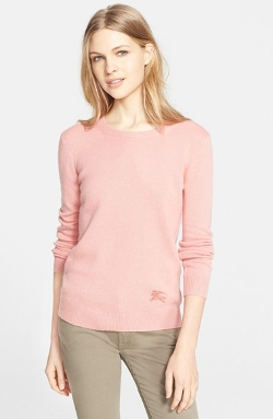 Burberry Brit  - Cashmere Blend Crewneck Sweater