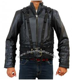Desert Leather - Bane Vest Jacket with Detachable Sleeves