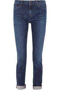 Karl Lagerfeld  - Karla Mid-Rise Straight-Leg Jeans