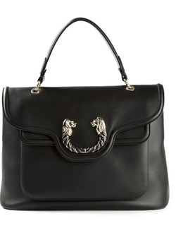 Bulgari - Lions Head Detail Tote Bag