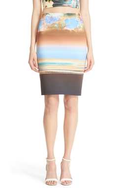 Clover Canyon  - Floral Whisper Pencil Skirt