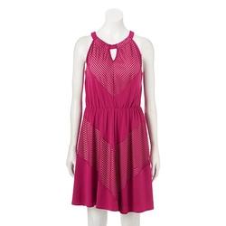 Apt. 9 - Burnout Stripe A-Line Dress