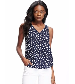 Old-Navy - Printed-Swing Tank Top