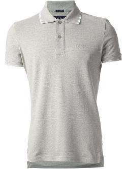Armani Jeans  - Contrast Stripe Trim Polo Shirt