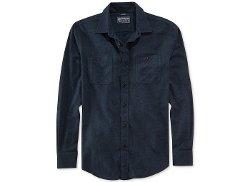 American Rag - Long-Sleeve Flannel Shirt