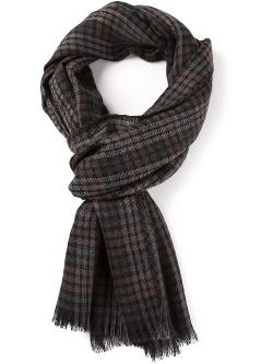 Tom Ford  - Checked Scarf