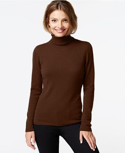 Charter Club  - Cashmere Turtleneck Sweater