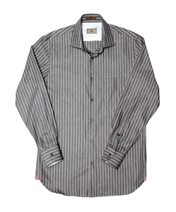 Alara - Italian Stripe Dress Shirt