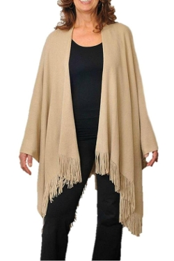 New Dimension - Long Cape Shawl Scarf